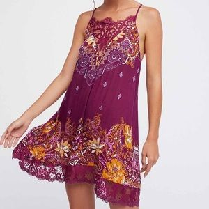 Free People Womens Who's Sorry Now Shift Slip